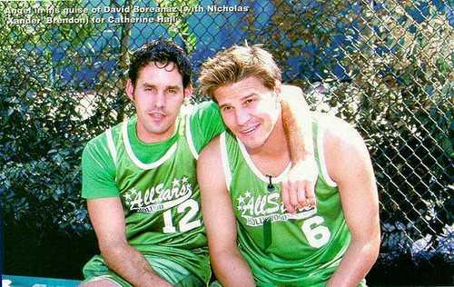 David Boreanaz & Nicholas B.