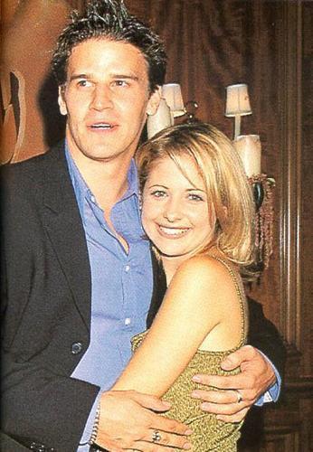 David Boreanaz & Sarah(1997)