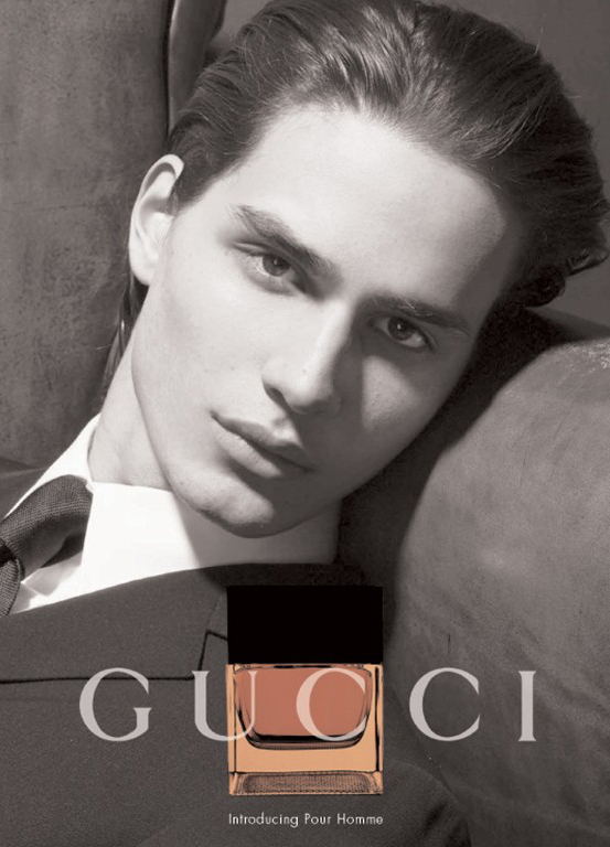 David Smith in an ad of gucci - gucci Photo - David-Smith-in-an-ad-of-gucci-gucci-1243199_553_768