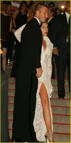 David and Victoria @ MET Costume Gala