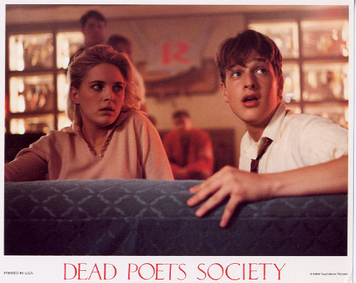 Dead Poets Society wallpaper probably with a sign titled Dead Poets Society Lobby Cards