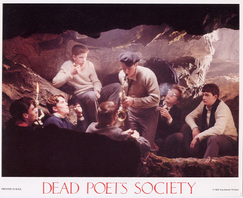 Dead Poets Society wallpaper with a concert titled Dead Poets Society Lobby Cards