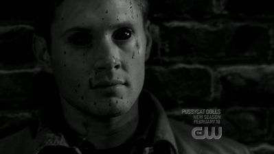 Supernatural wallpaper possibly containing a portrait titled Demon Dean