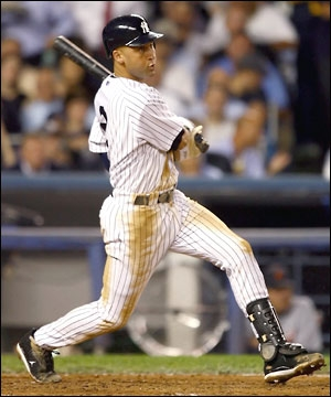 Derek Jeter wallpaper containing a first baseman, a ballplayer, and an infielder called Derek Jeter