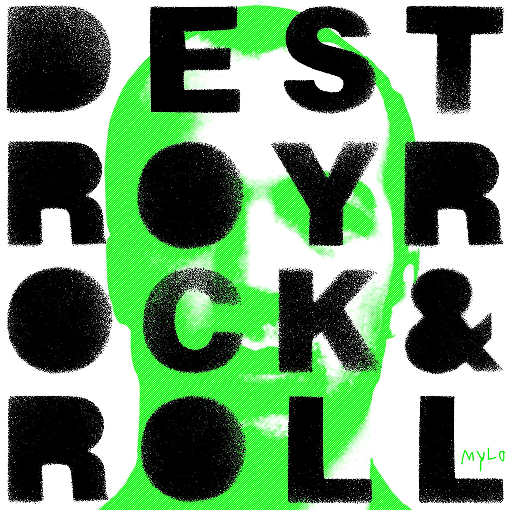Mylo images Destroy Rock & Roll Re-Release Cover HD ...