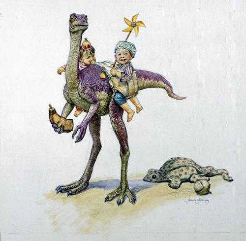 Dinosaur nanny