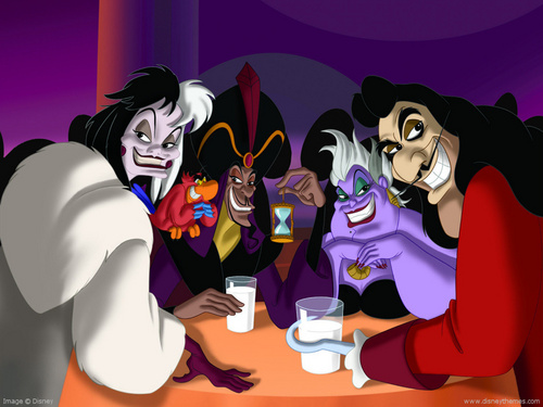 les méchants de Disney fond d'écran entitled Disney Villains