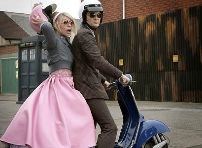 Doctor Who and Rose Tyler