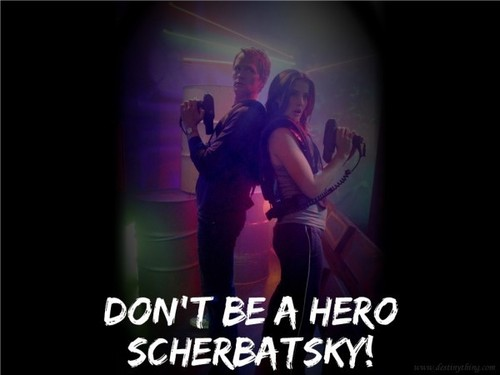 Don't be a hero Scherbatsky!