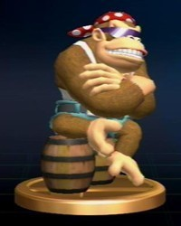 Donkey Kong Series Trophies