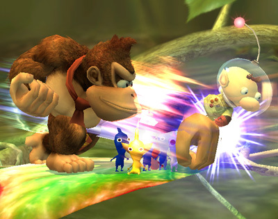 Donkey Kong Special Moves