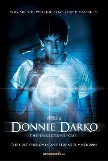 Donnie Darko poster/dvd cover