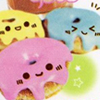 Nourriture kawaii. Donuts-kawaii-1200357_100_100