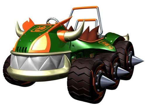 Mario Kart 바탕화면 called Double Dash Karts