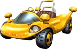 Mario Kart 바탕화면 possibly containing a dune buggy called Double Dash Karts