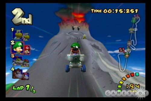 Mario Kart 바탕화면 possibly containing 아니메 titled Double Dash Screens