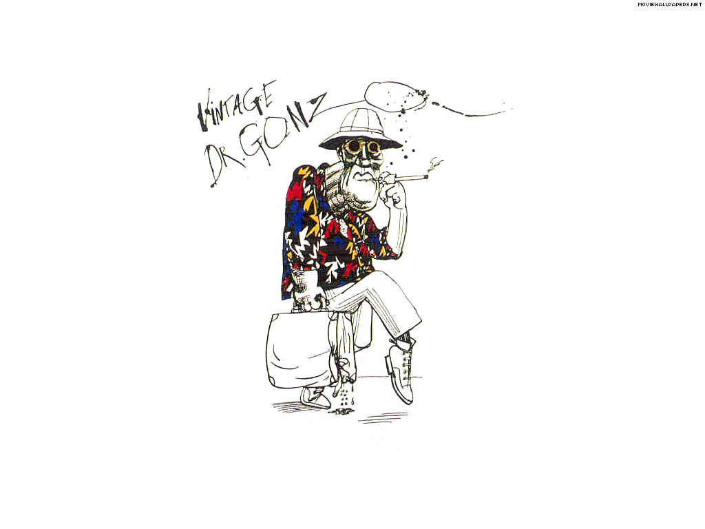 Dr. Gonzo - Fear and Loathing in Las Vegas 1024x768 800x600
