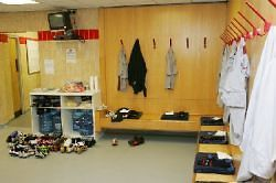 Manchester United پیپر وال titled Dressing Room