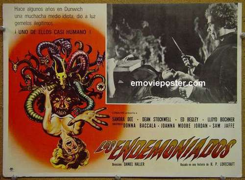 Witchcraft wallpaper titled Dunwich Horror poster