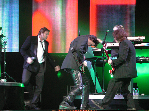 Duran in संगीत कार्यक्रम
