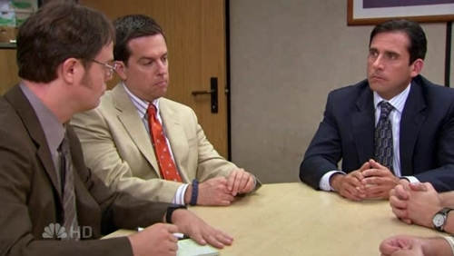Dwight, Andy & Michael