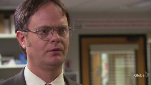 Dwight in hapunan Party
