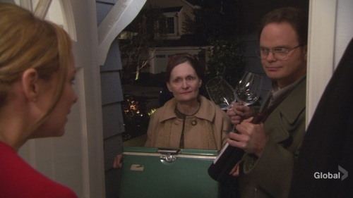 Dwight in 晚餐 Party