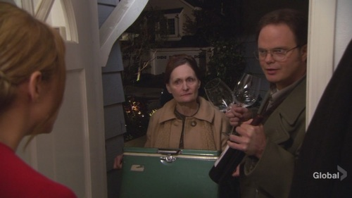 Dwight in cena Party