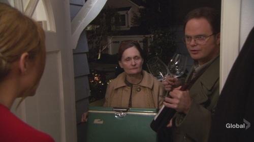 Dwight in makan malam, majlis makan malam Party