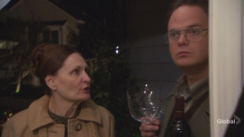 Dwight in Dinner Party