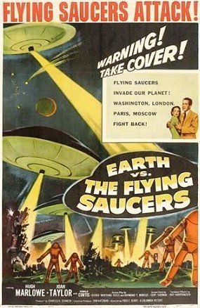 Earth V's The Flying Saucers