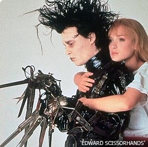 Movie Couples wallpaper titled Edward Scissorhands