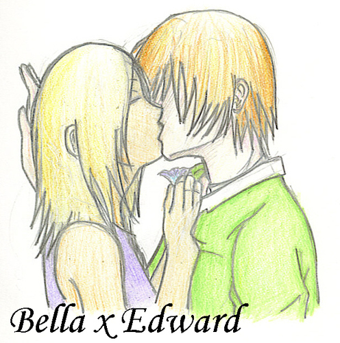 Edward and Bella-awwww so cute - twilight-obsessors Fan Art