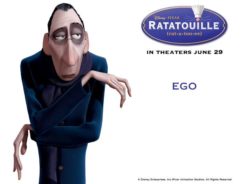 Ego - ratatouille Wallpaper