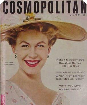 Elizabeth on magazine cover