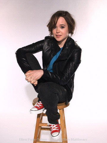 Ellen Page wallpaper with a well dressed person entitled Ellen