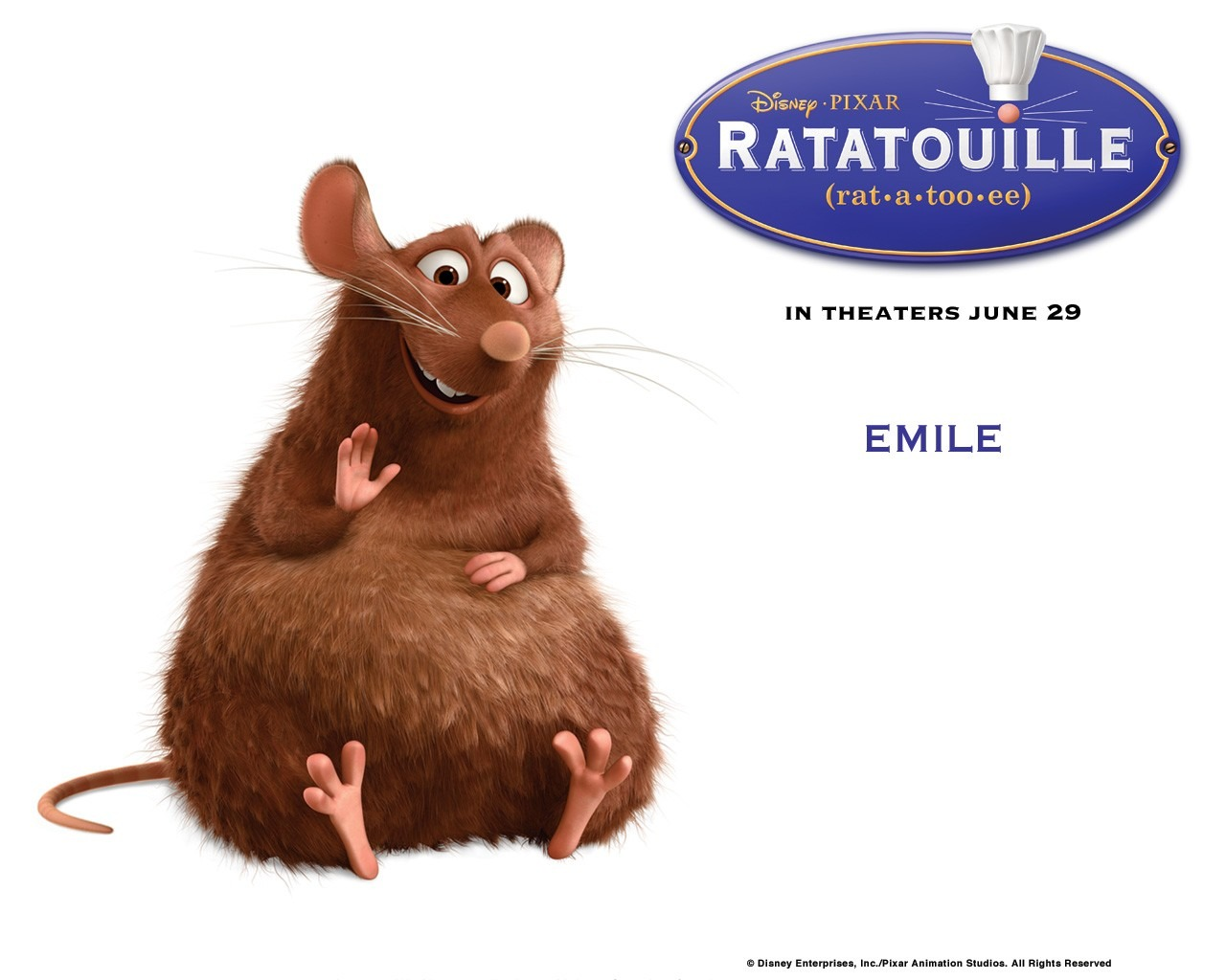Emile - ratatouille Wallpaper