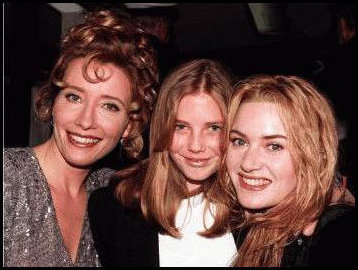 Emma, Imelda and Kate Winslet