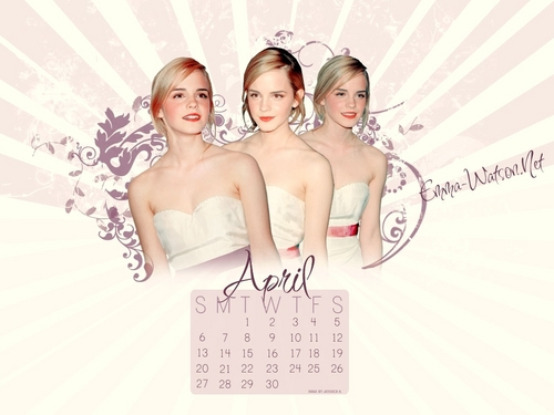 Emma Watson calendar