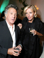 Emma and Dustin Hoffman