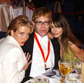 Emma at Elton Johns party