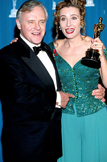 Emma at the Oscars in 1993