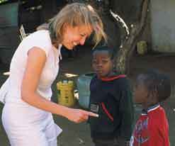 Emma in Africa
