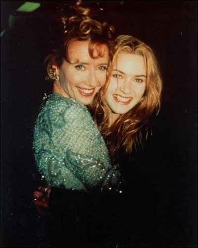 Emma with Kate Winslet