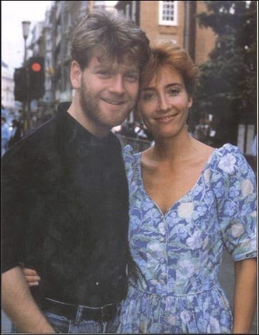 Emma with Kenneth Branagh