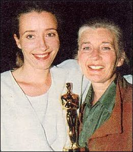 Emma Thompson wallpaper entitled Emma with her Mum