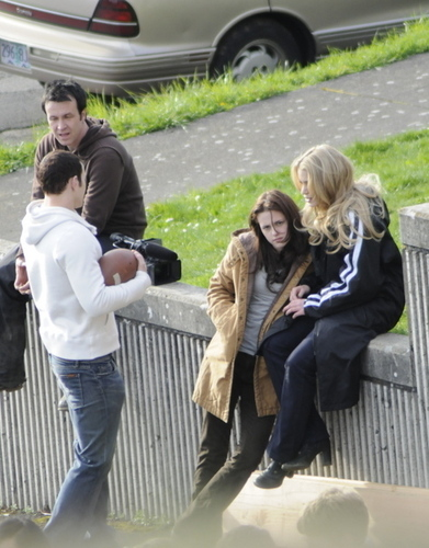 Emmett, Bella and Rosalie