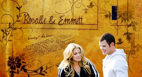 Emmett and Rosalie
