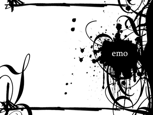 Emo wallpaper with a street titled Emo Vectors