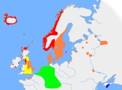European language history